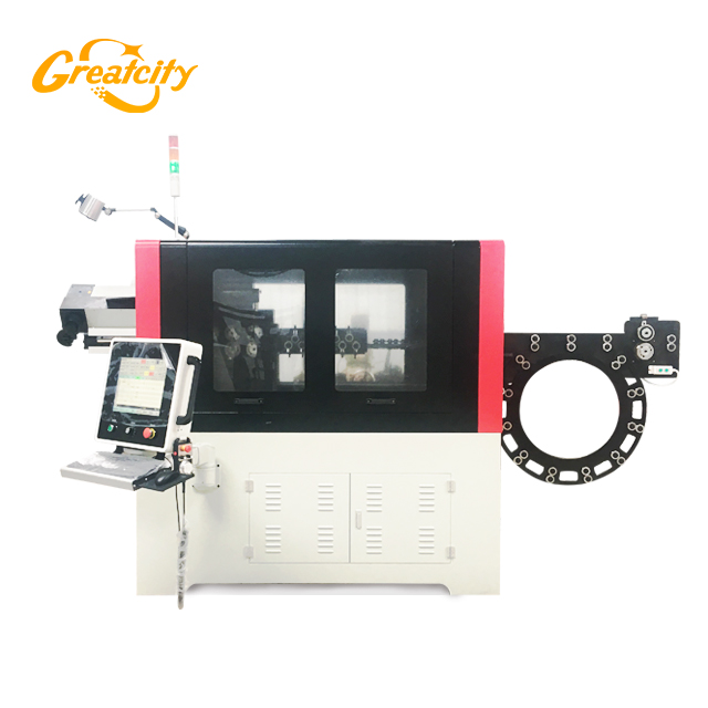 Machine de pliage automatique de fil de pliage CNC de forme 3D